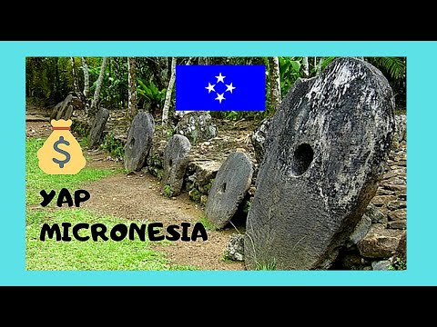 YAP (MICRONESIA), its incredible STONE MONEY (RAI), Pacific Ocean