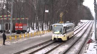 Public transport of Moscow (winter 2012)