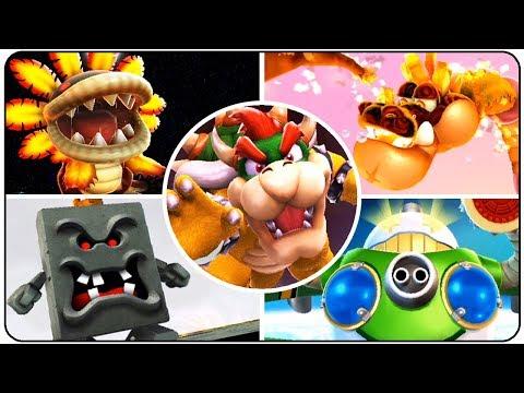 Super Mario Galaxy 2 - All Bosses (No Damage)