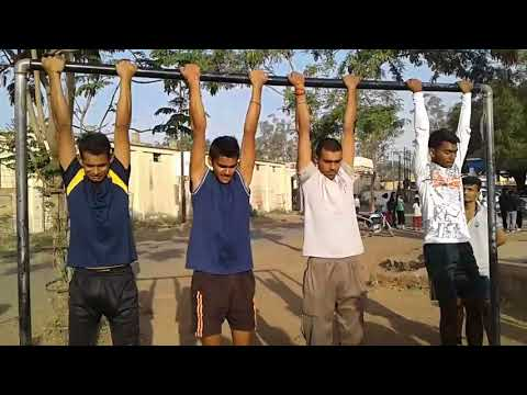 Pull-ups Training For Indian Army Selection