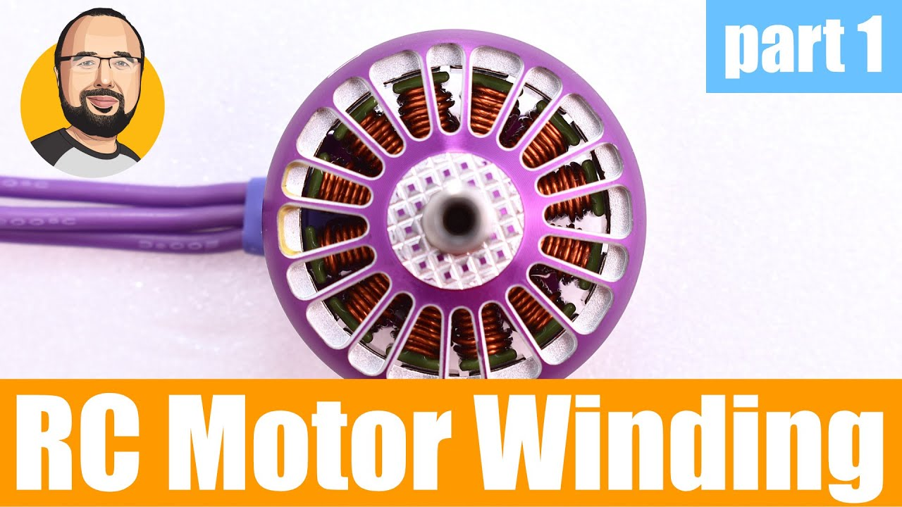 Motor winding for the rest us us - this is how RC hobby electric motors are  winded