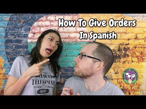 How to be hated? - Formal instructions in Spanish || The IMPERATIVE in SPANISH