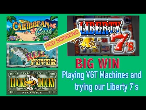 RED SCREENS and BIG WINS ➢ VGT Slots ✦Choctaw Casino✦