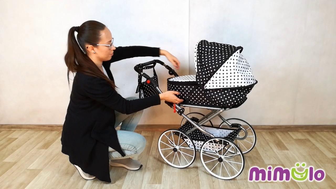 285ab2fefe2c Retro kočík pre bábiky 2v1 New Baby Natálka - YouTube