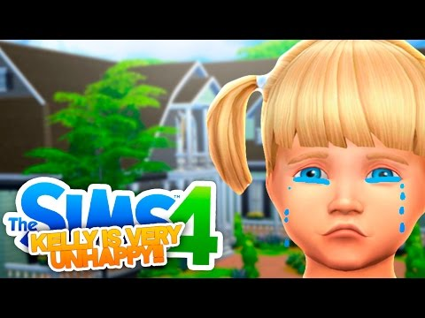 Sims 4 Adventure #2 - NEW HOUSE BUT A VERY SAD BABY KELLY!!!