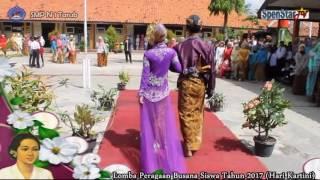 Download Video Lomba Peragaan Busana Siswa SMP Negeri 1 Tarub Menyambut Hari Kartini Tahun 2017 MP3 3GP MP4