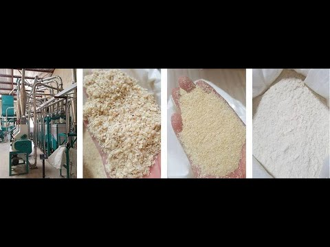 maize milling plant running in Tanzania for sembe and dona