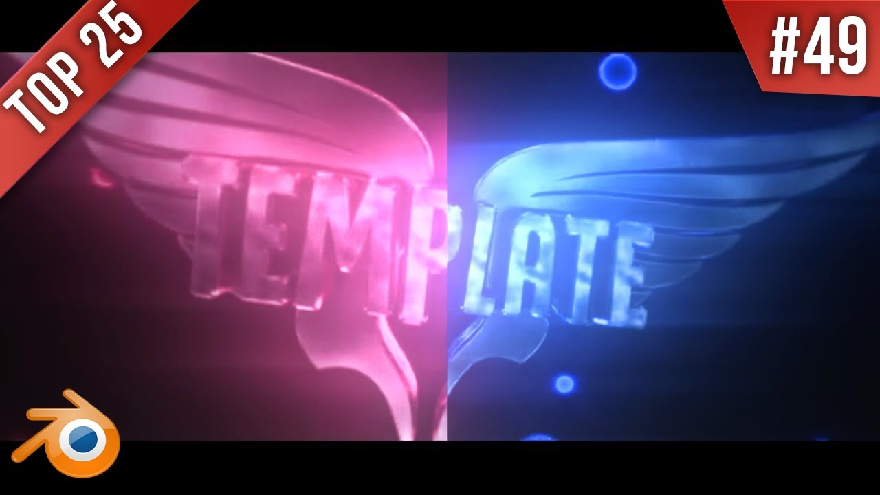 TOP 25 BEST Blender Intro Templates #49 + FREE Download (Editables)