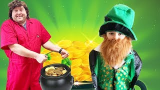 The Little Leprechaun pretend play toys kids fun and hilarious video