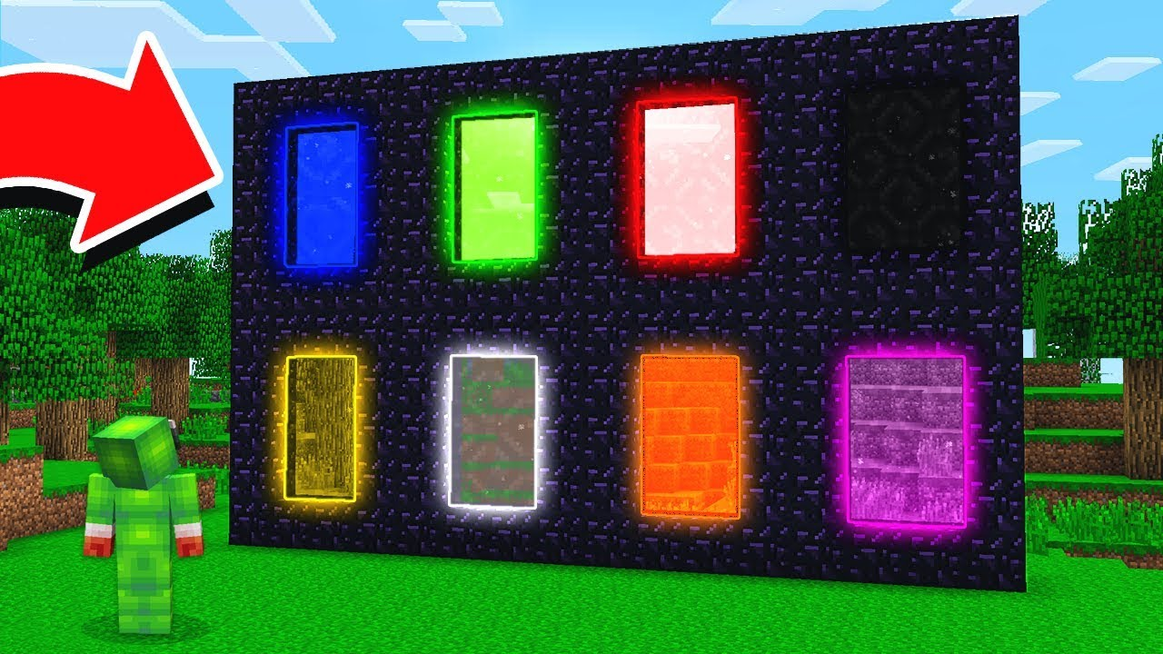 8 New Minecraft Dimensions Youtube