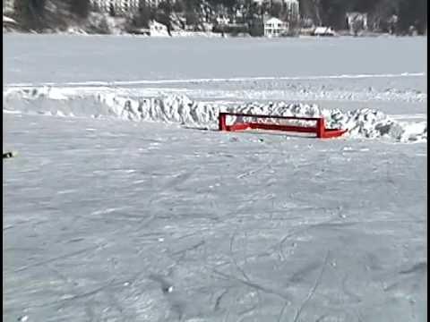 Can Am Pond Hockey Tournament Lake Placid Ny Youtube