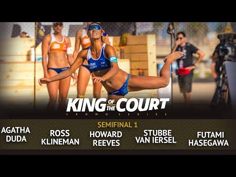 Women's Semi Final 1 - Full Match | Beach Volleyball | King Of The Court Huntington Beach (USA)