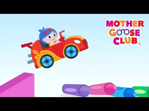 Driving in My Car | Mother Goose Club | Nursery Rhyme Baby Songs for Kids Children and Toddlers