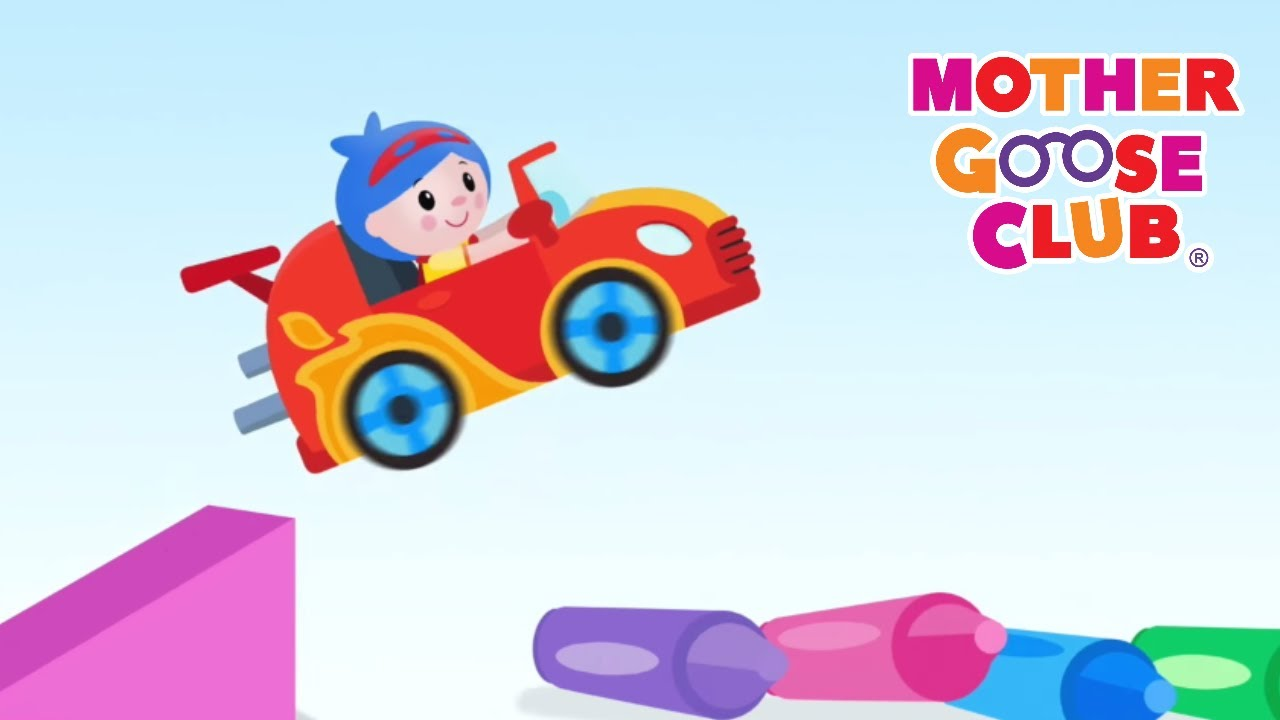 Driving in My Car | Mother Goose Club | Nursery Rhyme Baby Songs for Kids Children and Toddlers ...