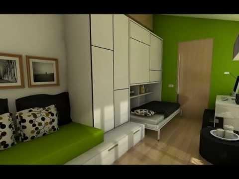 Apartamento 25m doovi for Como decorar un estudio de 20 metros cuadrados