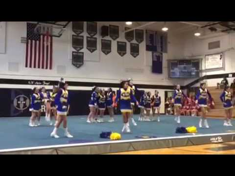 Manchester township middle school-cheer 2016-2017