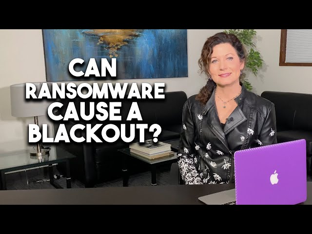 Can ransomware cause a blackout?