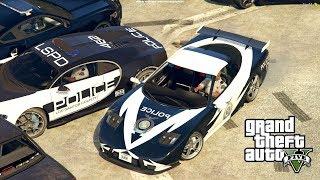 POLICYJNY CORVETTE VS ZŁODZIEJASZKI! - FiveM czyli GTA Online - Hogaty i Bartek #07