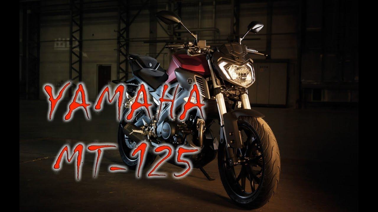 yamaha mt 125 detalhes completos motonews youtube. Black Bedroom Furniture Sets. Home Design Ideas