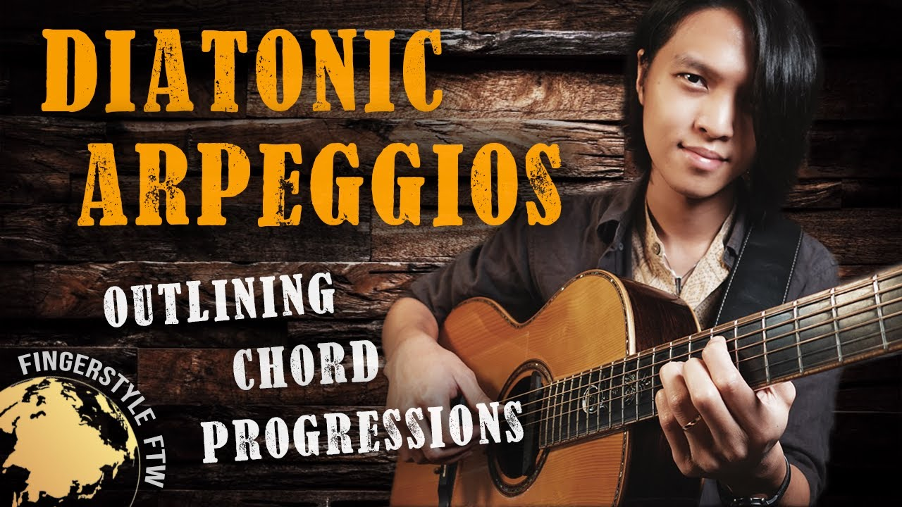 Diatonic Arpeggios on Guitar: How to Outline Chord Progressions