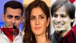 Salman Khan Meets Vivek Oberoi, Katrina Kaif