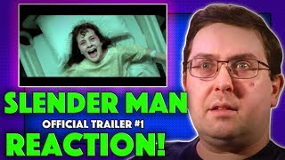 REACTION! Slender Man Trailer #1 - Joey King Movie 2018
