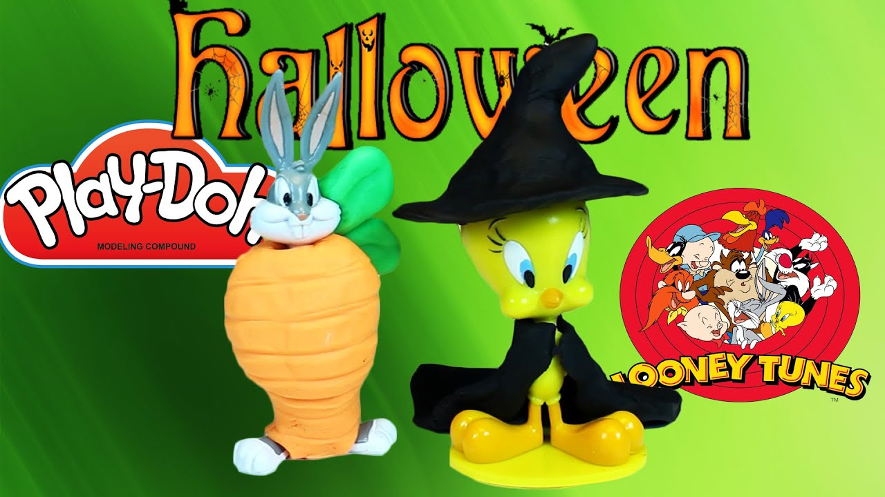 play doh halloween costumes, looney tunes - bucks bunny tweety | fan
