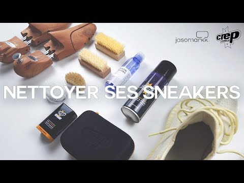 TUTO NETTOYER SES SNEAKERS 🧼/ JASON MARKK vs CREP PROTECT / YEEZY 350v2 BUTTER