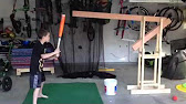 BackYard Batter Soft Toss Pitching Machine YouTube - Backyard batter