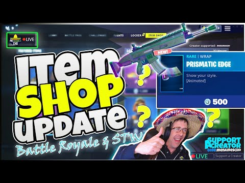 💥menamescho's-live---prismatic-edge-⏺-item-shop-update-💫-fortnite-battle-royale-23rd-sept-2019