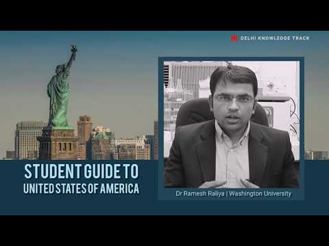 Higher Studies in USA | By Dr. Ramesh Raliya | Washington University