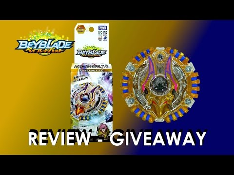 Beyblade Burst ベイブレードバースト B-71 Booster Acid Anubis.Y.O Unboxing Review Giveaway Exp April 14th