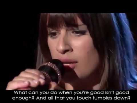 Glee - Get It Right (Full Performance with Lyrics)