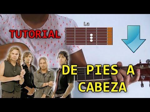 Cómo Tocar De Pies A Cabeza De Mana Ft Nicky Jam En Guitarra | Tutorial