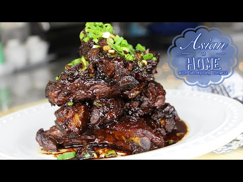 Filipino Adobo Recipe : Filipino Pork Adobo with Baby Back Ribs 필리핀 음식 아도보 만들기