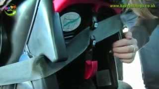 Graco Junior Baby - Установка автокресла в машину