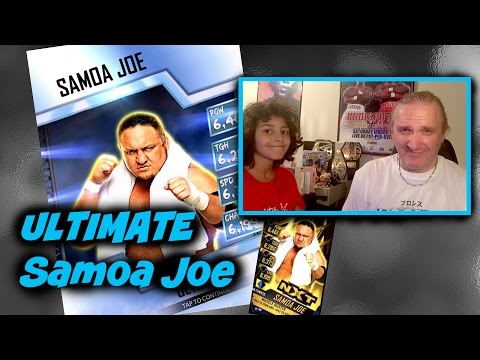WWE SuperCard S3 Ep24 : Ultimate Samoa Joe RTG