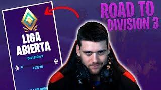 DIRECTO - Road to Liga Abierta Division 3 - Fortnite Competitivo - Arena
