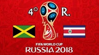 JAMAICA v. COSTA RICA - CONCACAF 2018 FIFA World Cup - GRUPO B