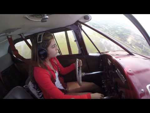 Sky's 16 th Birthday, Solo Flight