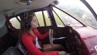Sky's 16 th Birthday, Solo Flight
