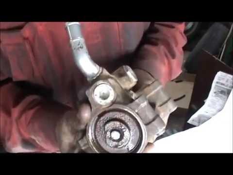 Ford Fusion замена шкива насоса гидроусилителя руля