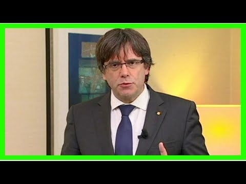 Spain issues eu arrest warrant for ousted catalan leader carles puigdemont