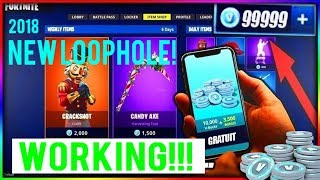 How to HACK Fortnite - Get Free vBucks - 2018 WORKING (PS4/XBOX/PC/iOS)