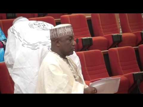 25th May 2016          Sen  Kabiru  Gaya Kano South suporting a motion on Senate  Intervention on th