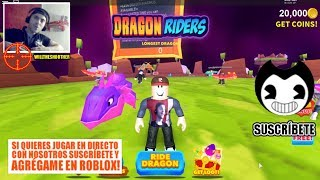 MY NEW PET, A DRAGON LILA / DRAGON RIDERS ROBLOX ENGLISH / WILLTHESHOOTER