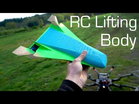 3D Printed RC Lifting Body Aircraft? - RCTESTFLIGHT