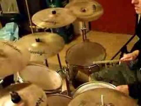 Jamming the drums