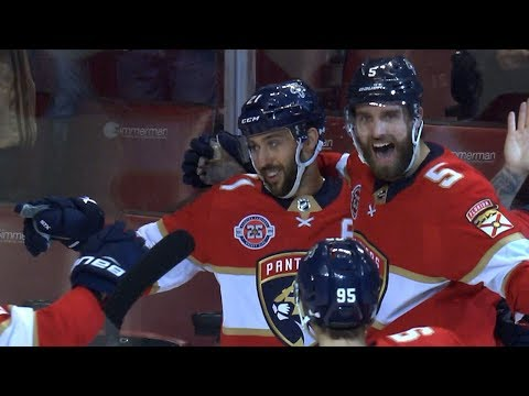 Panthers net two power-play goals in nine seconds