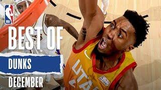 NBA's Best Dunks | December 2019-20 NBA Season